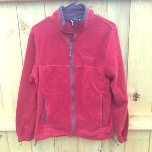Columbia Other - ☀️SALE☀️ Men's Red Columbia Full Zip Jacket 🔹