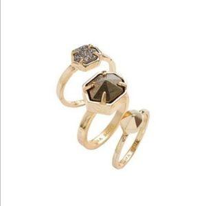Kendra Scott Jewelry - Kendra Scott Ring Set