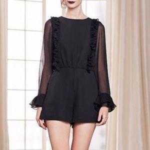 LC Lauren Conrad Dresses & Skirts - Lauren Conrad Collection Ruffle Romper