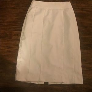 Dresses & Skirts - Cream colored skirt. Perfect for work.