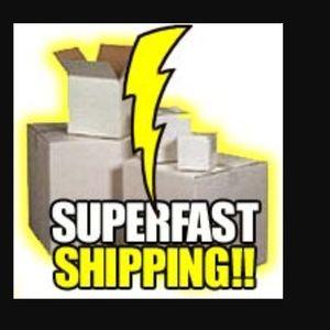 SUPERFAST SHIPPER!!! ⚡️⚡️⚡️⚡️
