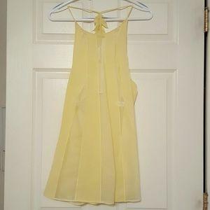 La Perla Other - NWOT La Perla yellow babydoll lingerie w/panties