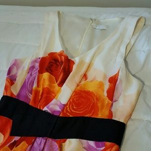 NWOT  NYC Floral Sleeveless Dress
