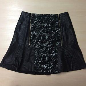 W118 by Walter Baker Dresses & Skirts - Walter Baker Mixed Media Monochromatic Skirt - XS