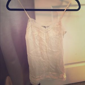 White House Black Market fitted cami- XXS