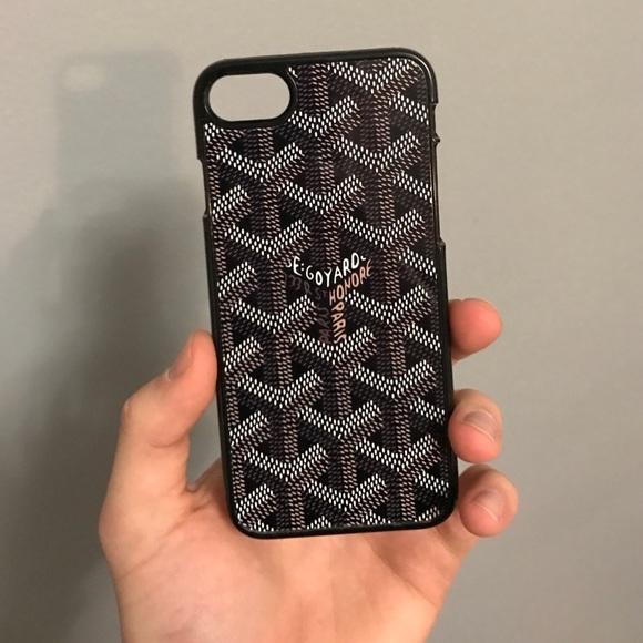 official photos bc1e5 c7277 Goyard iPhone 7 phone case plastic