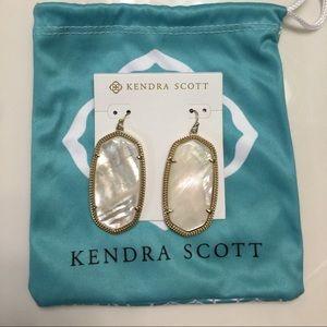 Kendra Scott Danielle Ivory Pearl Earrings