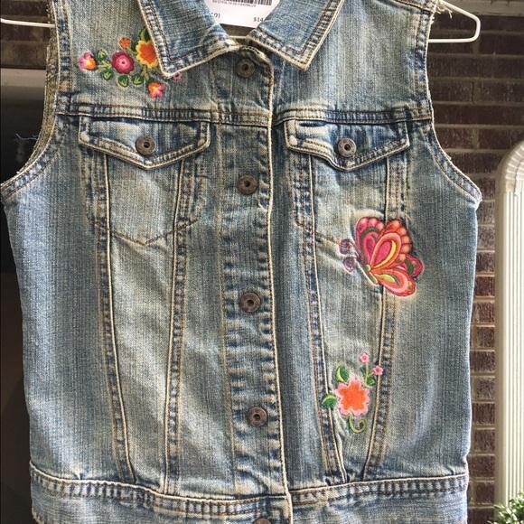ad916af9f Carol's Denim Jackets & Coats | Carols Denim Girls Embroidered Jean ...