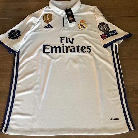 2bd5266759d Adidas Shirts | Real Madrid 1617 White Ronaldo 7 Men | Poshmark