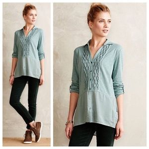 Anthropologie Meadow Rue Button Down
