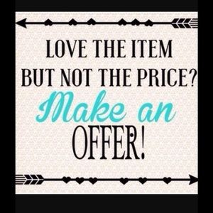 Make me an offer! 😊