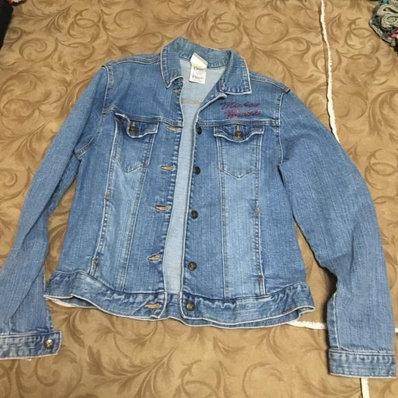 e41a7f2a16 Disney Mickey Mouse denim jacket