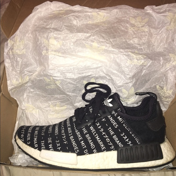 36d105f46 Adidas Other - NMD Whiteout  Blackout pack Size 9.5 Adidas