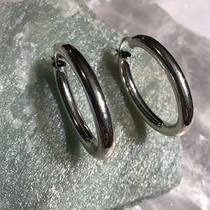 Sterling silver opal earrings - qvc sterling silver hoop earrings