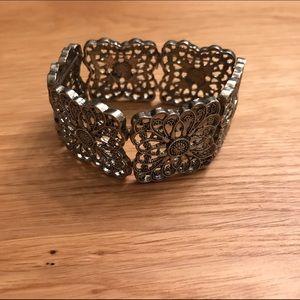 BKE Jewelry - BKE Buckle Silver Cuff Bracelet