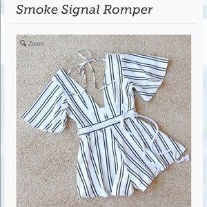 Spool 72 Other - Black and White Stripe Romper