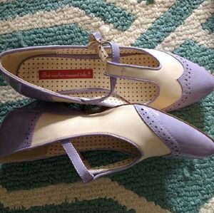 B. A. I. T vintage like t- strap shoes