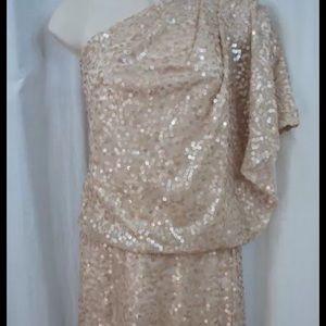 Size 4 Jessica Simpson blush dress