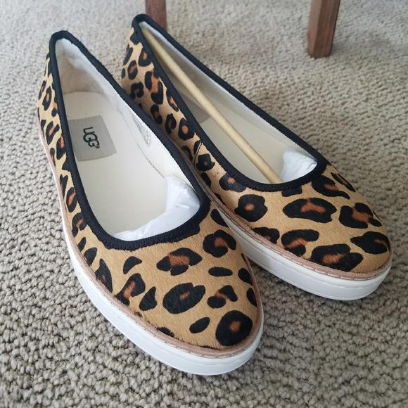 98dbb169f5d2 UGG Shoes   Womenskammi Calf Hair Leopard Great Gift   Poshmark