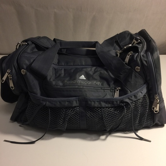 Adidas by Stella McCartney Handbags - Adidas by Stella McCartney Gray Duffle  Bag f8b05cf751393