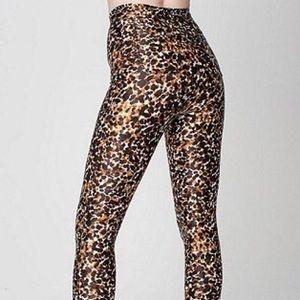 American Apparel Pants - RARE Cheetah Disco Pant | American Apparel