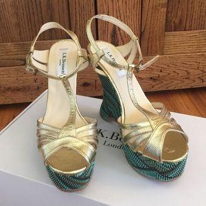 "LK Bennett Shoes - 1 DAY SALE! BNWB LK Bennett ""Lydia"" wedges! Sz 36"