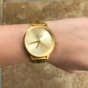Vintage inspired Nixon Kensington watch