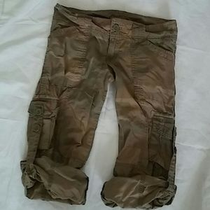 Hollister Army Shorts Size XS