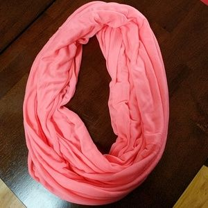 NWT bright coralish Gap infinity scarf
