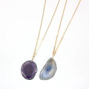 17Basics Jewelry - ⚡️FLASH SALE⚡️17Basics natural stone long necklace