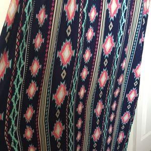 Just My Size Dresses - Tribal Lace Dress 3X
