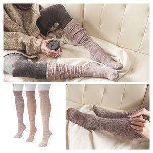 b9b9fb19d17 Muk Luks Accessories - muk luks 3pk over the knee socks