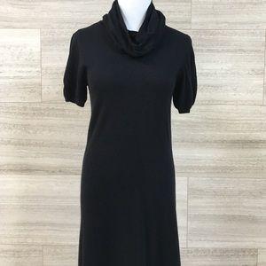 Donna Morgan Dresses & Skirts - Long Black Turtleneck Knit Dress Size XS