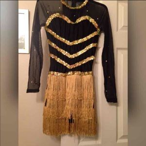 2 Identical Sequin Majorette Dance Uniforms 12 And 16 From