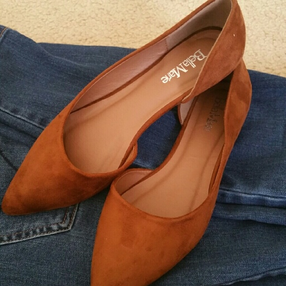 fc152f8ecce2 Bella Marie Shoes | New Tan Flats | Poshmark