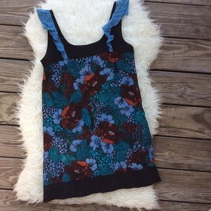 Anthropologie LUX Silk Tunic