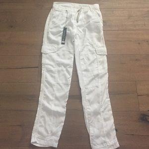 Blank NYC Denim - White cargo jeans