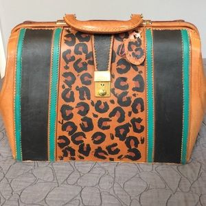 HOST PICKVintage Hand Painted Leather Bag
