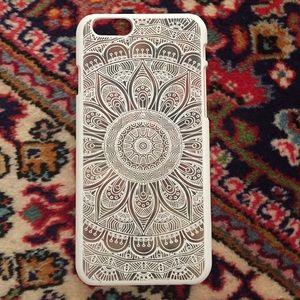 🌟|| White Brandy Melville Iphone 6 Case