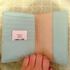 Kate Spade Wedding Belles passport holder