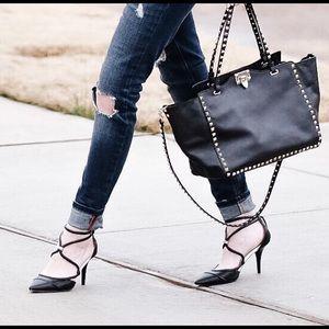 L.A.M.B. Strappy heels 8