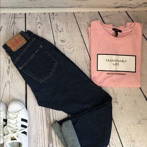 Vintage guess dark wash jeans