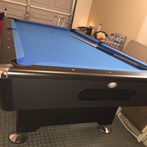Accessories Pool Table Electric Blue Clothe Gread Poshmark - Electric blue pool table