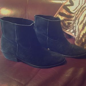 Dolce Vita Shoes - DV dolce vita suede black ankle boots