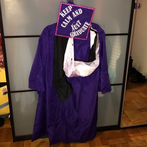 Other | Hunter College Ny Purple Graduation Gown | Poshmark