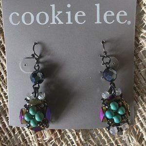 Jewelry - NWT Genuine Crystal Earrings-Gorgeous Colors!!