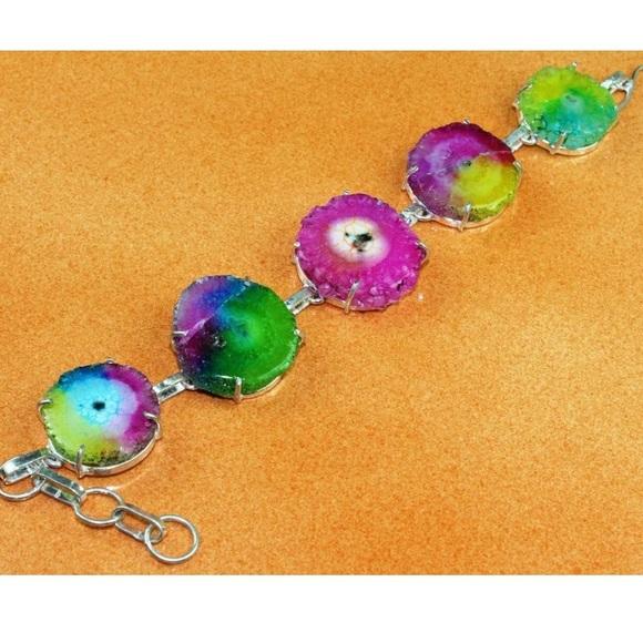 4360441e5 Jewelry | Sterling Silver Quarts Bracelet Host Pick | Poshmark