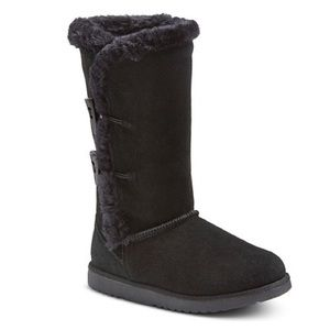 d8e972befde Target Kallima Suede Shearling Style Boots uggs