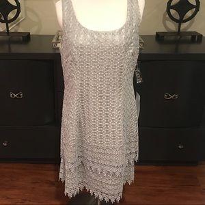 Alex Evenings Dresses & Skirts - Alex Evenings Platinum Petite Cocktail Dress