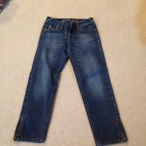 Justice Other - Final price Dark wash skinny jeans!